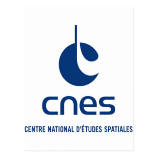 Centre national d'études spatiales postcard