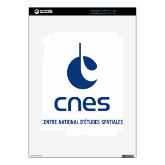 Centre national d'études spatiales skins for iPad 2
