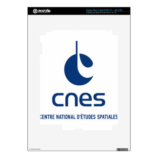 Centre national d'études spatiales skins for iPad 3
