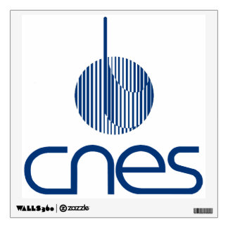 Centre national d'études spatiales wall sticker