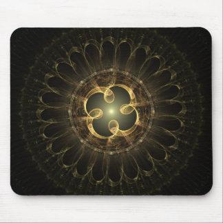 Centre of Creation fractal design Mouse Pad