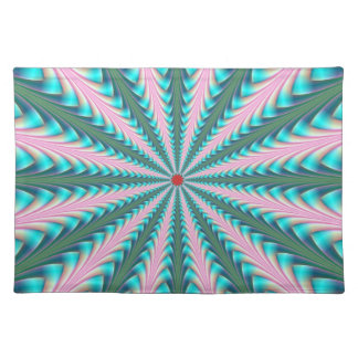 Centre Point in Pink and Blue Placemats
