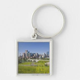 Centre St Bridge and Downtown Calgary, Alberta, 2 Keychain