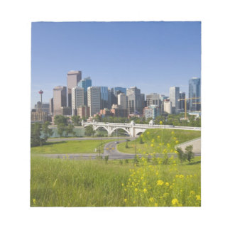 Centre St Bridge and Downtown Calgary, Alberta, 2 Notepad