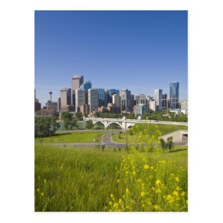 Centre St Bridge and Downtown Calgary, Alberta, 2 Postcard