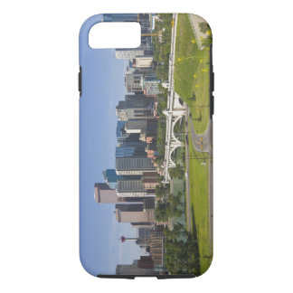 Centre St Bridge and Downtown Calgary, Alberta, iPhone 7 Case