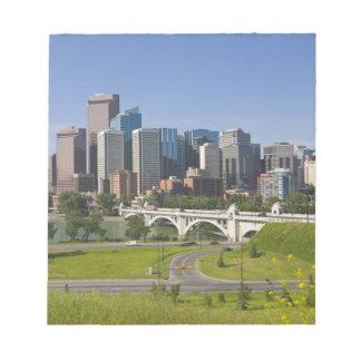 Centre St Bridge and Downtown Calgary, Alberta, Notepad