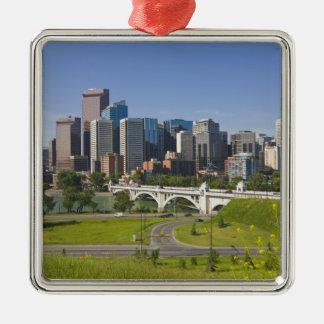 Centre St Bridge and Downtown Calgary, Alberta, Christmas Tree Ornament