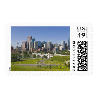 Centre St Bridge and Downtown Calgary, Alberta, Postage