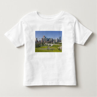 Centre St Bridge and Downtown Calgary, Alberta, Toddler T-shirt