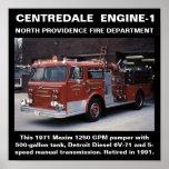 Centredale Engine-1 North Providence FD Print