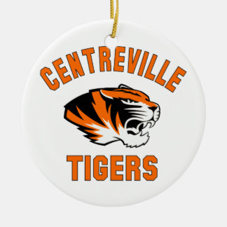 Centreville Tigers2013.png Ceramic Ornament