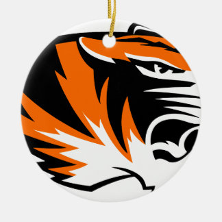 Centreville Tigers Ceramic Ornament