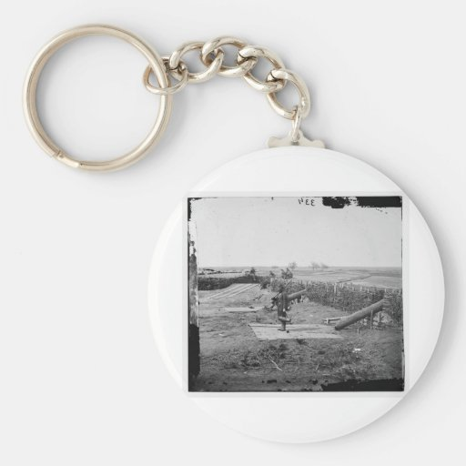Centreville, Va. Fort on the heights, circa 1861 Key Chain