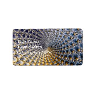 Centrifractality - arte del fractal etiquetas de dirección