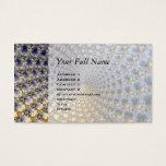 Centrifractality - Fractal Art Business Card