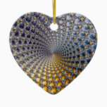 Centrifractality - Fractal Art Ceramic Ornament