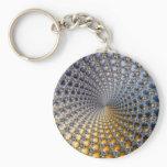 Centrifractality - Fractal Art Keychain