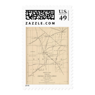 Centro 15 de la población sello