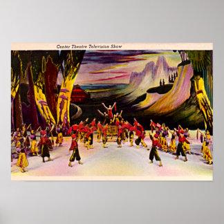 Centro 1940 de New York City, Nueva York Rockefell Impresiones