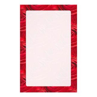 Centro abstracto del papel pintado del rosa rojo papelería