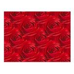 Centro abstracto del papel pintado del rosa rojo postal