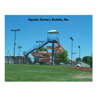 Centro acuático, Sedalia, MES Tarjetas Postales