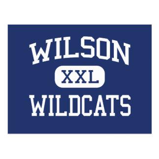 Centro Albuquerque de los gatos monteses de Wilson Postales