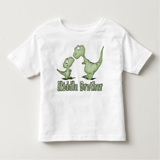 Centro Brother de los dinosaurios Camisas