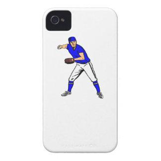 Centro campo del béisbol Case-Mate iPhone 4 cárcasa