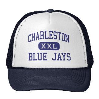 Centro Charleston de los arrendajos azules de Char Gorras De Camionero
