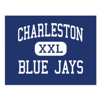Centro Charleston de los arrendajos azules de Postales