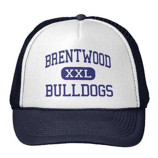 Centro Charleston de los dogos de Brentwood Gorras
