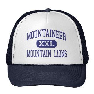 Centro Clarksburg de los leones de montaña del mon Gorros Bordados