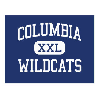 Centro Columbia de los gatos monteses de Columbia Tarjeta Postal
