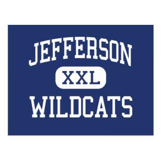 Centro Columbia de los gatos monteses de Jefferson Postales
