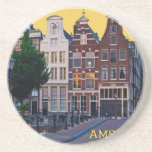 Centro de Amsterdam-Keizersgracht Posavasos Manualidades