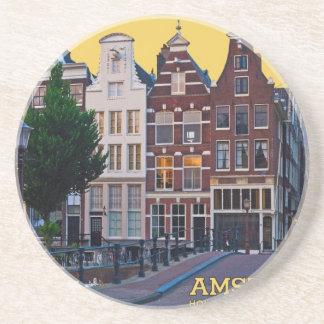 Centro de Amsterdam-Keizersgracht Posavasos De Arenisca