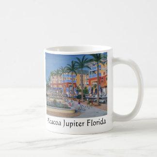 Centro de ciudad de Abacoa Júpiter la Florida Taza De Café
