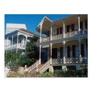 Centro de ciudad de Galveston, Tejas meridional, l Postales