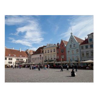 Centro de ciudad de Tallinn Tarjeta Postal