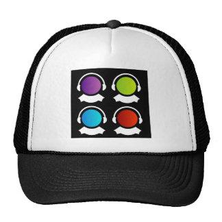 centro de cuidado del cliente gorra