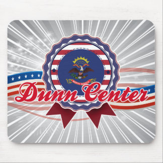 Centro de Dunn, ND Alfombrilla De Ratón
