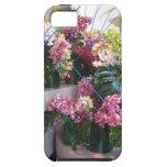Centro de flores iPhone 5 funda
