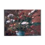 Centro de flores romántico del vintage iPad mini protector