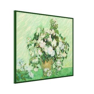Centro de flores - Vincent van Gogh - circa 1890 Impresión En Lona