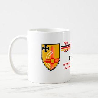 Centro de formación alemán del vuelo de la fuerza  taza de café