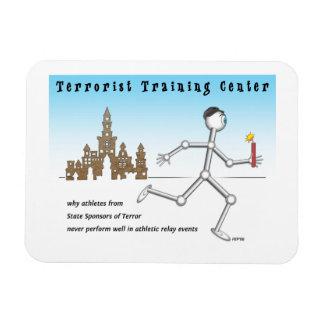 Centro de formación del terrorista iman rectangular