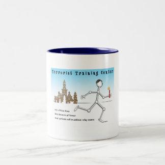 Centro de formación del terrorista tazas de café
