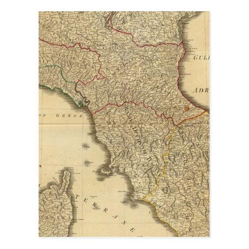 Centro de Italia, superior Postal